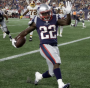 Ralph Webb runs for two touchdowns  PHOTO: Patriots