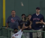 Jackie Bradley Jr. robs Aaron Judge of home run