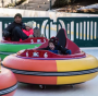 Ice Bumper Cars at the Alex and Ani Center