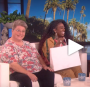 Mary Halsey was joined by Missy Elliott on Ellen.
